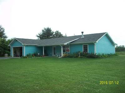 St Lawrence County Single Family Home For Sale: 175 Noyes Road