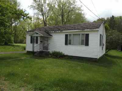 St Lawrence County Single Family Home For Sale: 124 Miner Street