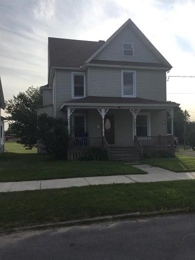Massena Single Family Home For Sale: 7 Winter