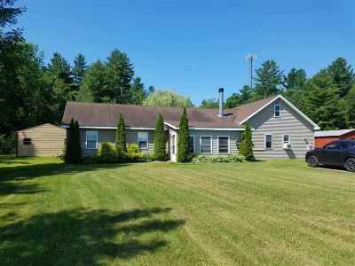 Chase Mills NY Single Family Home For Sale: $146,900