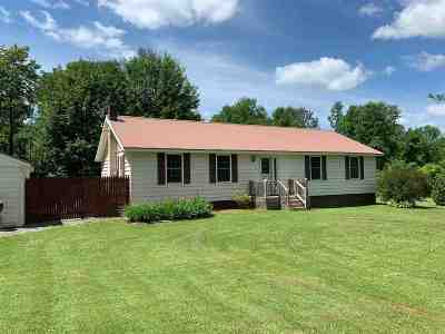Norwood NY Single Family Home For Sale: $142,500