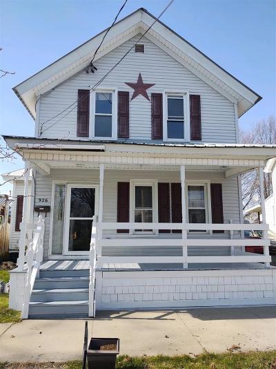 Ogdensburg NY Single Family Home For Sale: $119,000