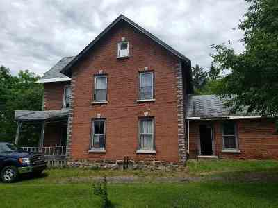 Antwerp NY Single Family Home For Sale: $40,000