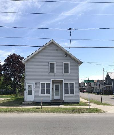 Ogdensburg NY Multi Family Home For Sale: $45,000
