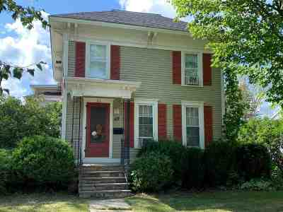 Canton Single Family Home For Sale: 69 State Street