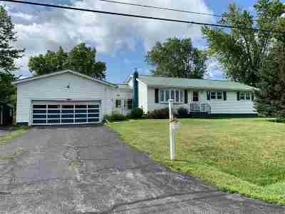 St Lawrence County Single Family Home For Sale: 982 County Route 37