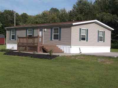 St Lawrence County Single Family Home For Sale: 448 Irish Settlement Road