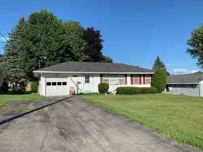 St Lawrence County Single Family Home For Sale: 57 Clarkson Avenue