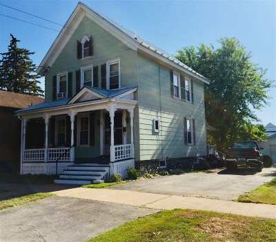 Ogdensburg NY Single Family Home For Sale: $75,000