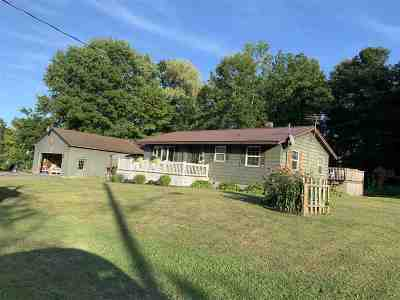 Waddington NY Single Family Home For Sale: $140,000