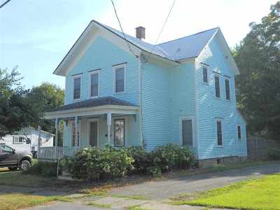 Potsdam NY Single Family Home For Sale: $99,500