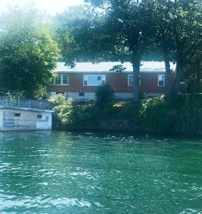 Ogdensburg Waterfront For Sale: 281 River Rd. East