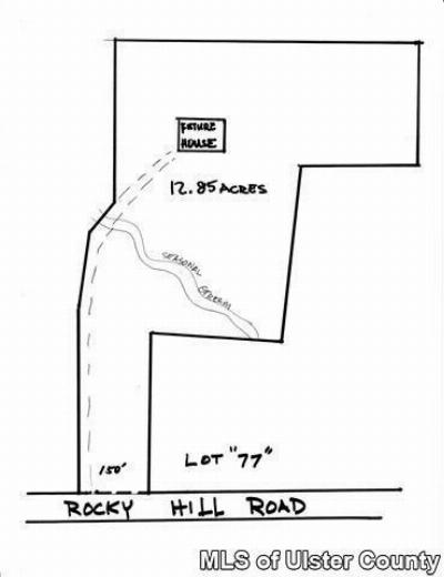 New Paltz Residential Lots & Land For Sale: Lot 77 Rocky Hill Road