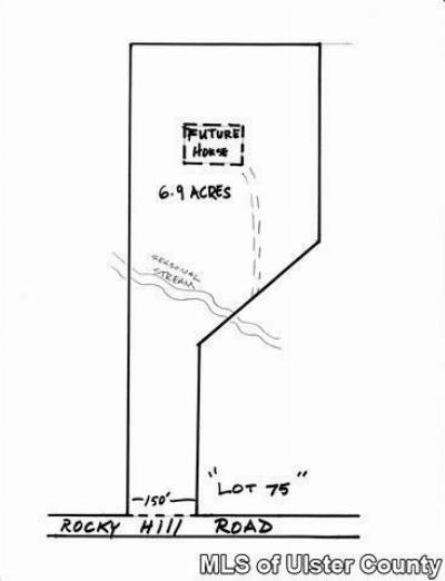 New Paltz Residential Lots & Land For Sale: Lot 75 Rocky Hill Road