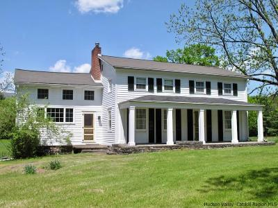 Malden On Hudson, Malden-on-hudson, Malden-on-the-hudson, Saugerties, Saugerties-town, Saugeties Single Family Home For Sale: 996 Route 212