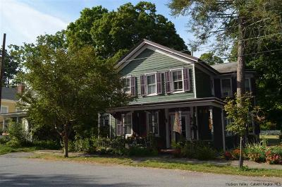 Rhinebeck Single Family Home Accepted Offer Cts: 13-15 Livingston Street