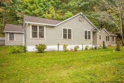 Single Family Home For Sale: 77 Canaan Road