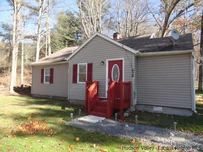 Napanoch Single Family Home Accepted Offer Cts: 634 State Route 55