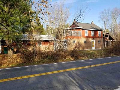 Saugerties Single Family Home For Sale: 1268 State Route 212 Road
