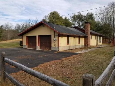 Saugerties Single Family Home For Sale: 1276 State Route 212 Roads