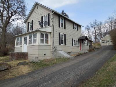 Saugerties Single Family Home For Sale: 25 Old Route 9w
