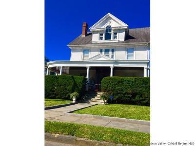 Kingston Single Family Home For Sale: 137 Washington Avenue