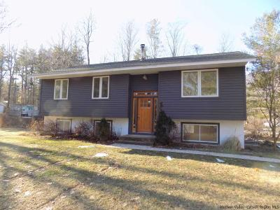 Mount Tremper NY Single Family Home Fully Executed Contract: $329,000