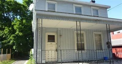 Greene County Multi Family Home Fully Executed Contract: 54 West Bridge Street