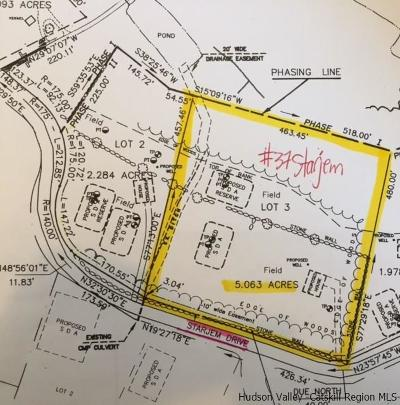 Saugerties Residential Lots & Land For Sale: 37 Starjem Dr