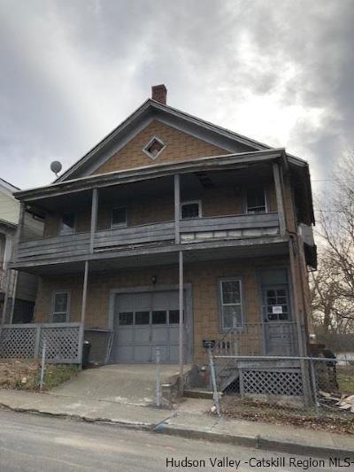 Kingston Single Family Home For Sale: 37 Livingston Street
