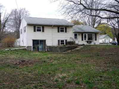 Single Family Home For Sale: 597 Route 44/55