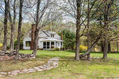 Woodstock Single Family Home Fully Executed Contract: 1883 Glasco Turnpike