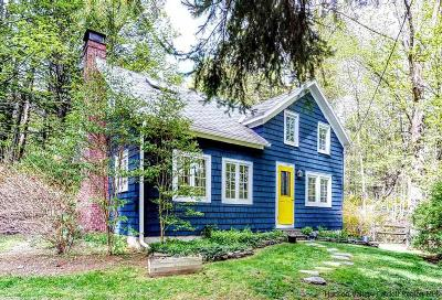 Woodstock NY Single Family Home Fully Executed Contract: $549,000