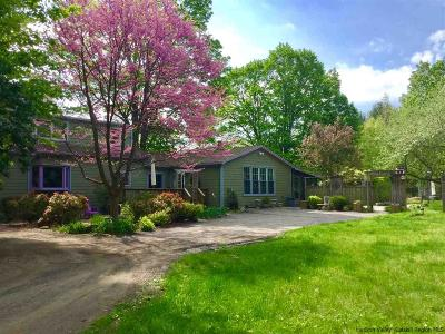 Woodstock NY Single Family Home Fully Executed Contract: $489,000