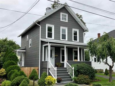 Kingston Single Family Home For Sale: 229 West Chestnut Street