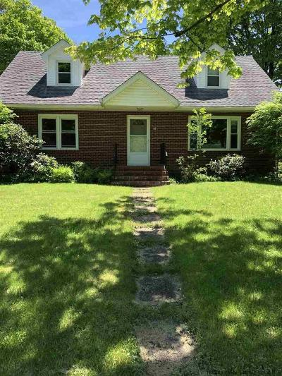 Single Family Home For Sale: 650 North Elting Corners Road