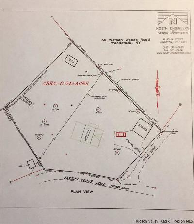 Woodstock NY Residential Lots & Land For Sale: $99,000