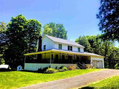 New Paltz Single Family Home Fully Executed Contract: 4 Soper Road