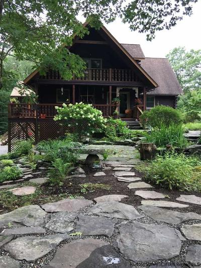 Saugerties Single Family Home For Sale: 490 Band Camp Road