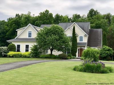 New Paltz NY Single Family Home Fully Executed Contract: $798,000