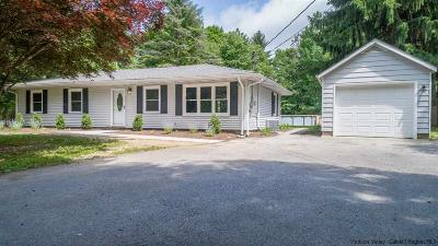 New Paltz Single Family Home Fully Executed Contract: 410 South Ohioville Road