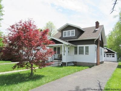 Saugerties Single Family Home For Sale: 212 Ulster Avenue