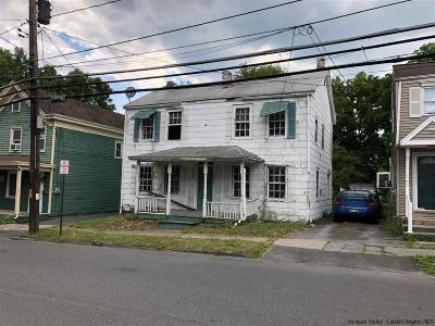 Saugerties Single Family Home For Sale: 130 W Bridge Street