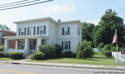 Saugerties Single Family Home For Sale: 68 Ulster Avenue