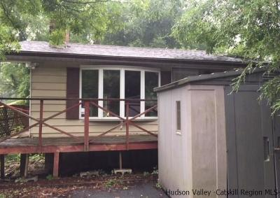 Saugerties Single Family Home Accepted Offer Cts: 153 Esopus Creek Road