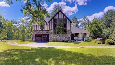 Woodstock NY Single Family Home Fully Executed Contract: $575,000