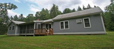 Delaware County Single Family Home Fully Executed Contract: 23584 Nyc Hwy 30a Highway