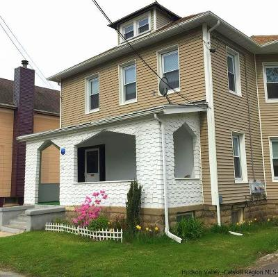 Ulster County Multi Family Home For Sale: 121 Pine Grove Avenue