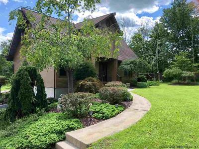 Gardiner Single Family Home Accepted Offer Cts: 1058 North Mountain Road