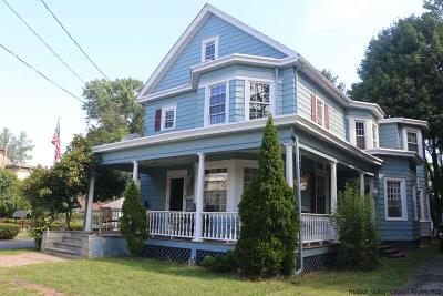 Saugerties Single Family Home For Sale: 27 Partition Street